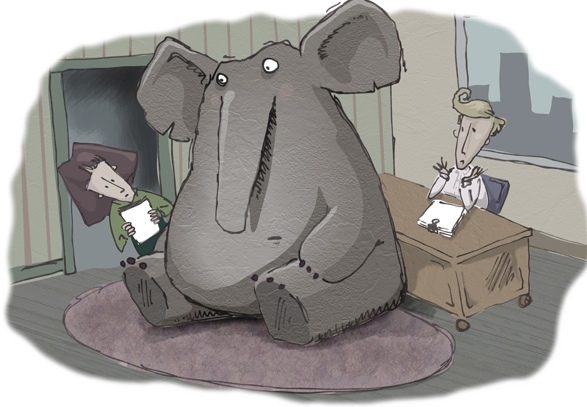 5 STEPS TO DEAL WITH THE ELEPHANT IN THE ROOM - Listening Pays